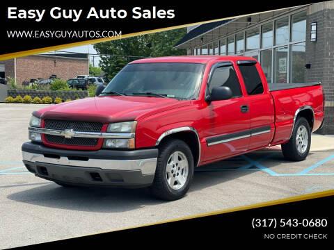 2005 Chevrolet Silverado 1500 for sale at Easy Guy Auto Sales in Indianapolis IN