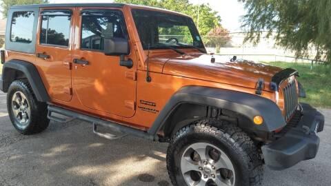 2010 Jeep Wrangler Unlimited for sale at Haigler Motors Inc in Tyler TX