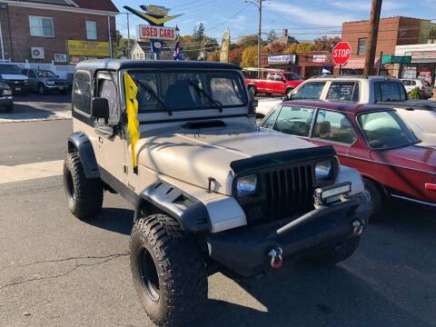 1995 Jeep Wrangler for sale at Bel Air Auto Sales in Milford CT
