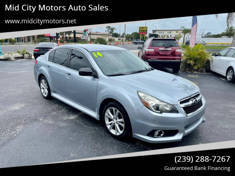 2014 Subaru Legacy for sale at Mid City Motors Auto Sales in Fort Myers FL