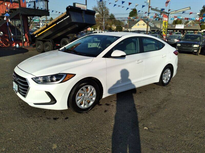 2017 Hyundai Elantra for sale at Cars & Trailers in Portland OR