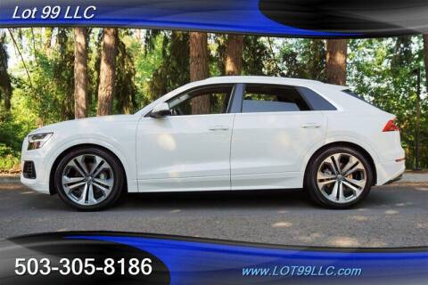 2019 Audi Q8 for sale at LOT 99 LLC in Milwaukie OR
