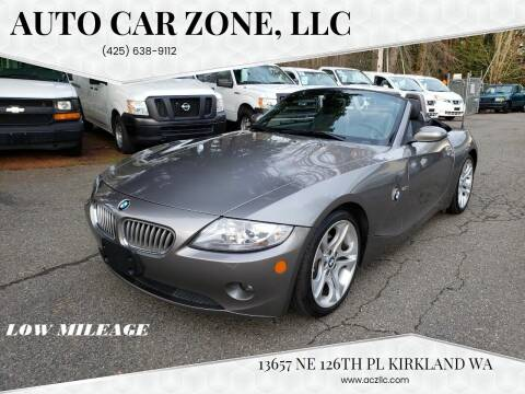 2005 BMW Z4 for sale at Auto Car Zone, LLC in Kirkland WA