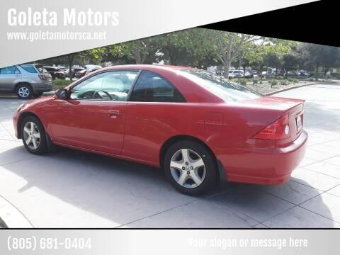 2005 Honda Civic for sale at Goleta Motors in Goleta CA
