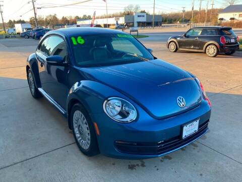 2016 Volkswagen Beetle for sale at Auto Import Specialist LLC in South Bend IN