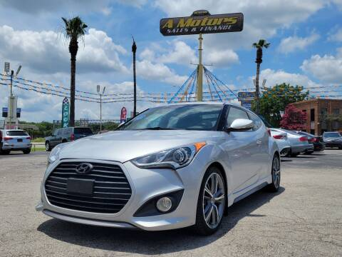 2015 Hyundai Veloster for sale at A MOTORS SALES AND FINANCE in San Antonio TX
