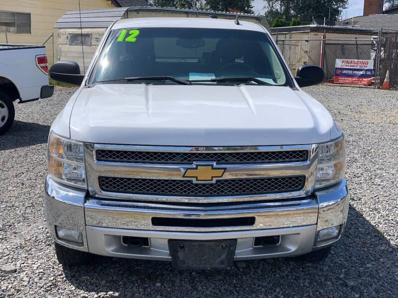 2012 Chevrolet Silverado 1500 for sale at MIDLAND MOTORS LLC in Tacoma WA