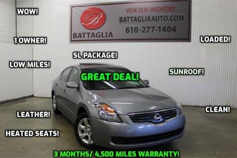 2009 Nissan Altima for sale at Battaglia Auto Sales in Plymouth Meeting PA
