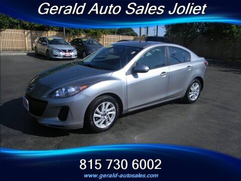 2013 Mazda MAZDA3 for sale at Gerald Auto Sales in Joliet IL