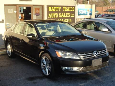 2013 Volkswagen Passat for sale at HAPPY TRAILS AUTO SALES LLC in Taylors SC