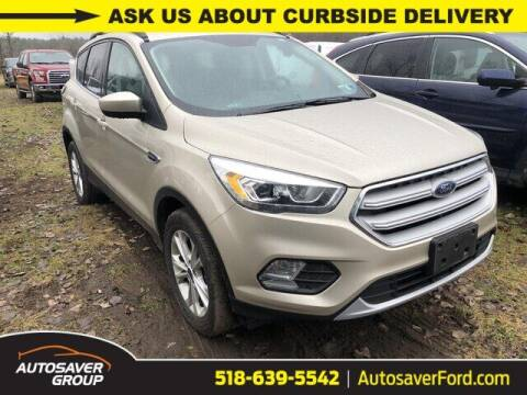 2018 Ford Escape for sale at Autosaver Ford in Comstock NY