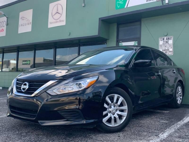 2017 Nissan Altima for sale at KARZILLA MOTORS in Oakland Park FL