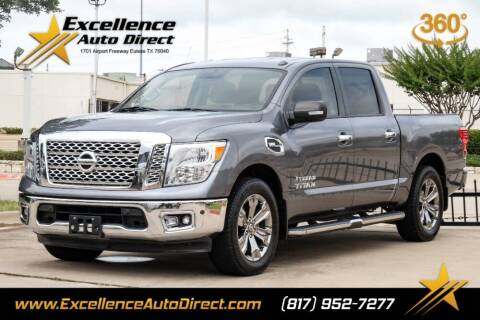 2017 Nissan Titan for sale at Excellence Auto Direct in Euless TX