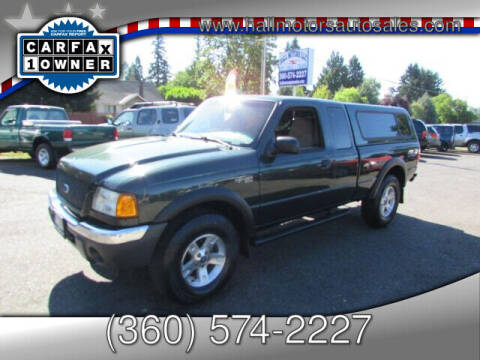 2002 Ford Ranger for sale at Hall Motors LLC in Vancouver WA
