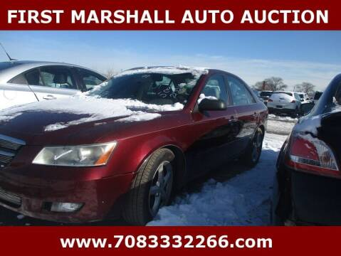 2007 Hyundai Sonata for sale at First Marshall Auto Auction in Harvey IL