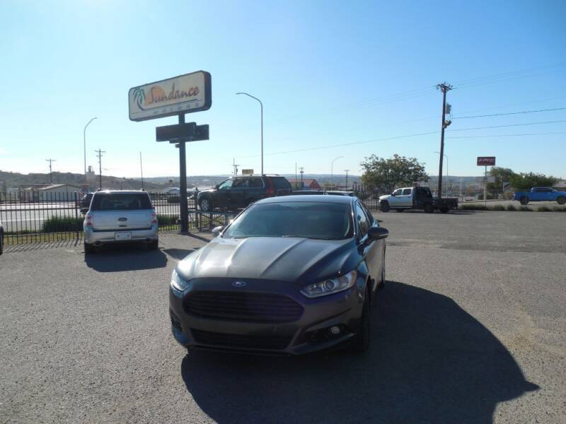 2016 Ford Fusion for sale at Sundance Motors in Gallup NM