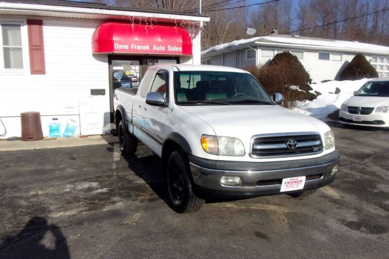 2001 Toyota Tundra for sale at Dave Franek Automotive in Wantage NJ