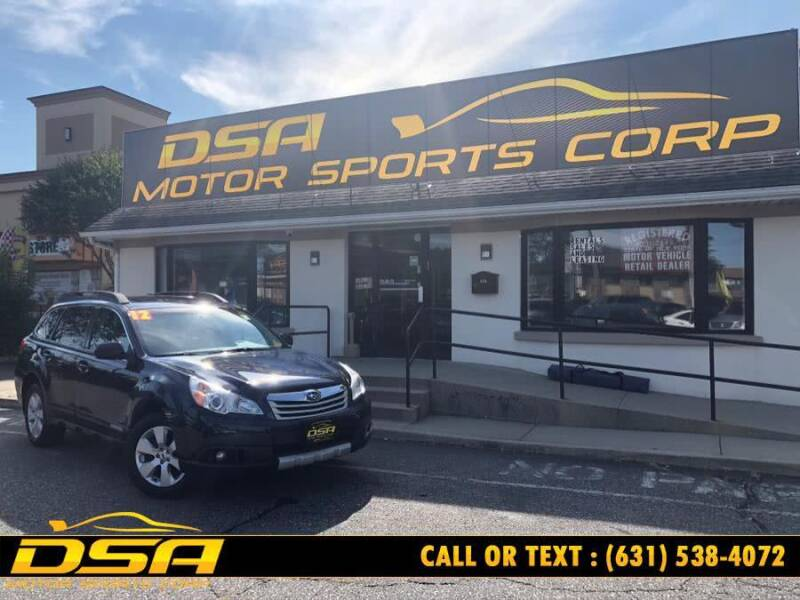 2012 Subaru Outback for sale at DSA Motor Sports Corp in Commack NY