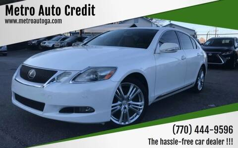2009 Lexus GS 450h for sale at Used Imports Auto - Metro Auto Credit in Smyrna GA