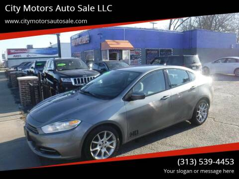 2013 Dodge Dart for sale at City Motors Auto Sale LLC in Redford MI