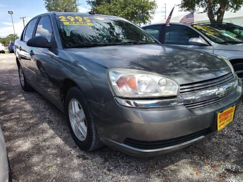 2005 Chevrolet Malibu for sale at AFFORDABLE AUTO SALES OF STUART in Stuart FL