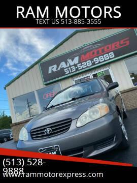 2004 Toyota Corolla for sale at RAM MOTORS in Cincinnati OH