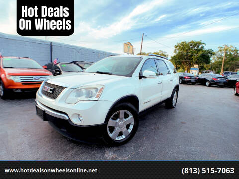 2007 GMC Acadia for sale at Hot Deals On Wheels in Tampa FL