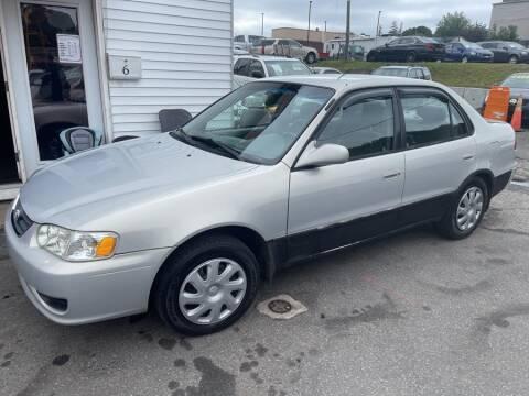 2002 Toyota Corolla for sale at Car VIP Auto Sales in Danbury CT