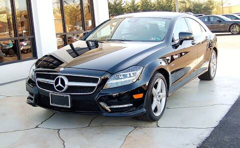 2012 Mercedes-Benz CLS for sale at Avi Auto Sales Inc in Magnolia NJ
