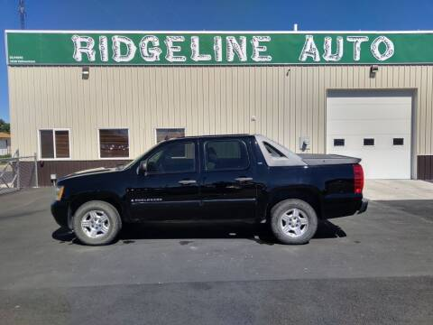 2007 Chevrolet Avalanche for sale at RIDGELINE AUTO in Chubbuck ID