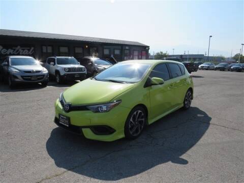 2016 Scion iM for sale at Central Auto in South Salt Lake UT