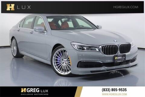 2019 BMW 7 Series for sale at HGREG LUX EXCLUSIVE MOTORCARS in Pompano Beach FL