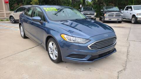 2018 Ford Fusion for sale at Dunn-Rite Auto Group in Longwood FL