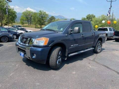 2015 Nissan Titan for sale at Lakeside Auto Brokers Inc. in Colorado Springs CO