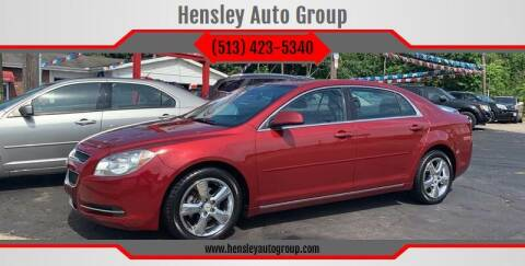 2010 Chevrolet Malibu for sale at Hensley Auto Group in Middletown OH