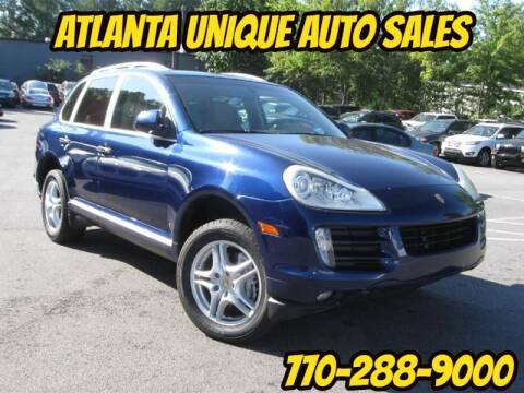 2008 Porsche Cayenne for sale at Atlanta Unique Auto Sales in Norcross GA