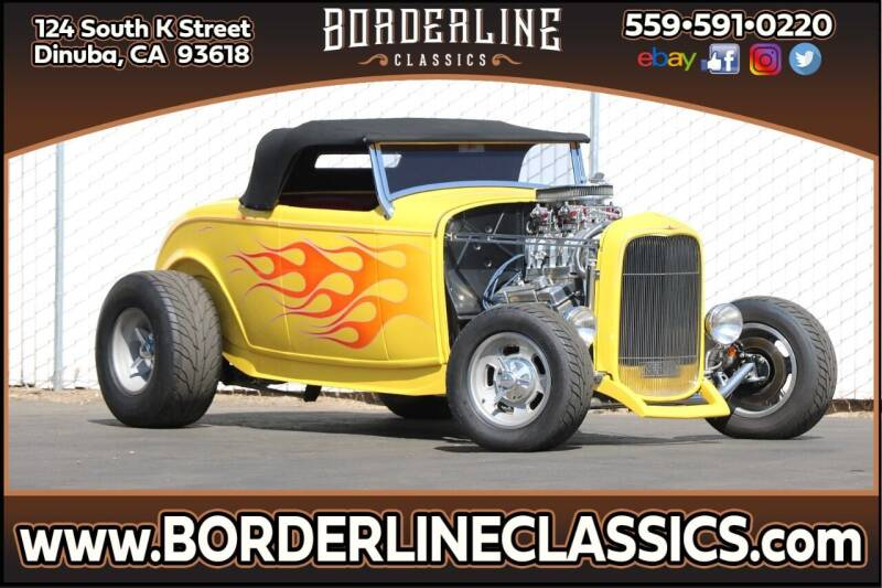 1934 Ford Convertible for sale at Borderline Classics in Dinuba CA