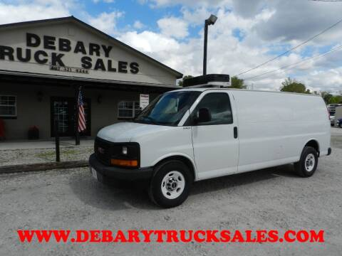2014 GMC Savana Cargo for sale at DEBARY TRUCK SALES in Sanford FL
