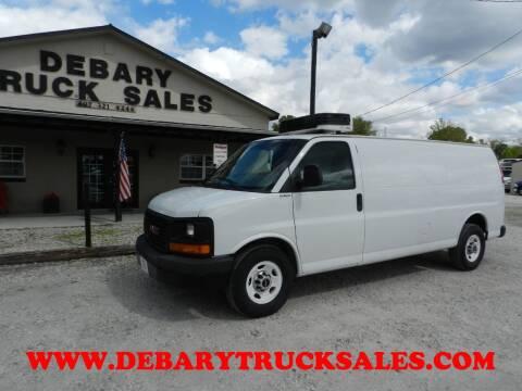 2014 GMC Savana Cargo for sale at DEBARY TRUCK SALES in Sanford FL