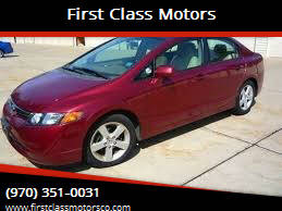 2006 Honda Civic for sale at First Class Motors in Greeley CO