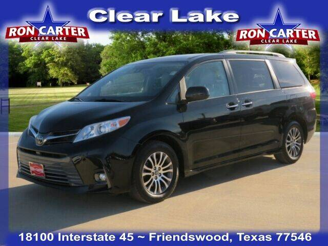 2020 Toyota Sienna for sale at Ron Carter  Clear Lake Used Cars in Houston TX