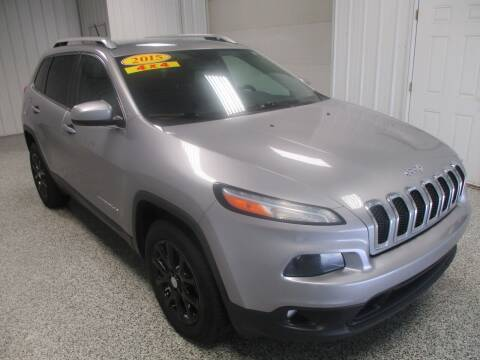 2015 Jeep Cherokee for sale at LaFleur Auto Sales in North Sioux City SD