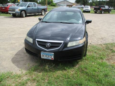2005 Acura TL for sale at D & T AUTO INC in Columbus MN
