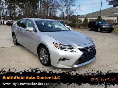 2016 Lexus ES 300h for sale at Smithfield Auto Center LLC in Smithfield NC