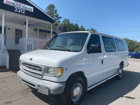 1998 Ford E-350 for sale at CVC AUTO SALES in Durham NC