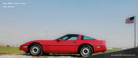 1985 Chevrolet Corvette for sale at Gary Miller's Classic Auto in El Paso IL
