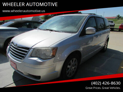 2008 Chrysler Town and Country for sale at WHEELER AUTOMOTIVE in Blair NE