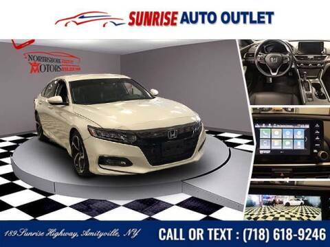 2019 Honda Accord for sale at Sunrise Auto Outlet in Amityville NY