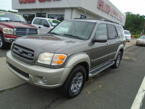 2004 Toyota Sequoia for sale at Island Auto Buyers in West Babylon NY