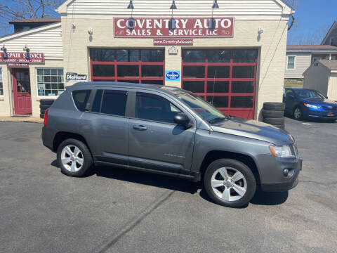 2011 Jeep Compass for sale at COVENTRY AUTO SALES in Coventry CT